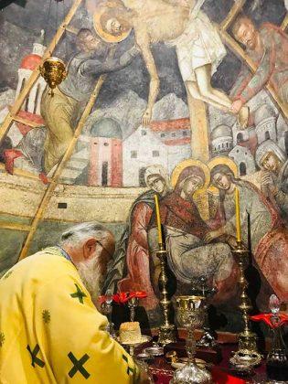 Η λιτάνευση του Ιερού Σκηνώματος του Αγίου Σπυρίδωνος της 11ης Αυγούστου2