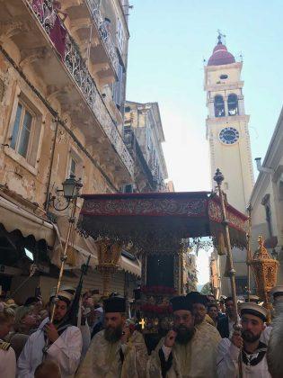 Η λιτάνευση του Ιερού Σκηνώματος του Αγίου Σπυρίδωνος της 11ης Αυγούστου22