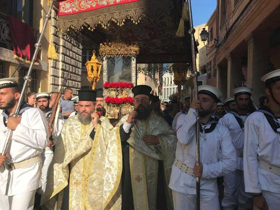 Η λιτάνευση του Ιερού Σκηνώματος του Αγίου Σπυρίδωνος της 11ης Αυγούστου24