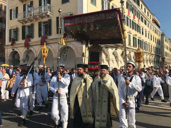 Η λιτάνευση του Ιερού Σκηνώματος του Αγίου Σπυρίδωνος της 11ης Αυγούστου25