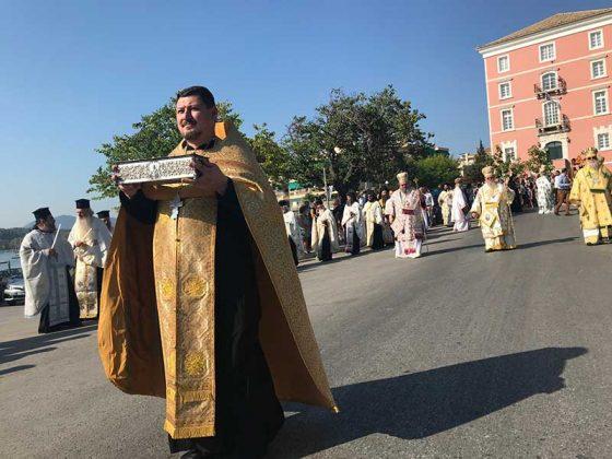 Η λιτάνευση του Ιερού Σκηνώματος του Αγίου Σπυρίδωνος της 11ης Αυγούστου27