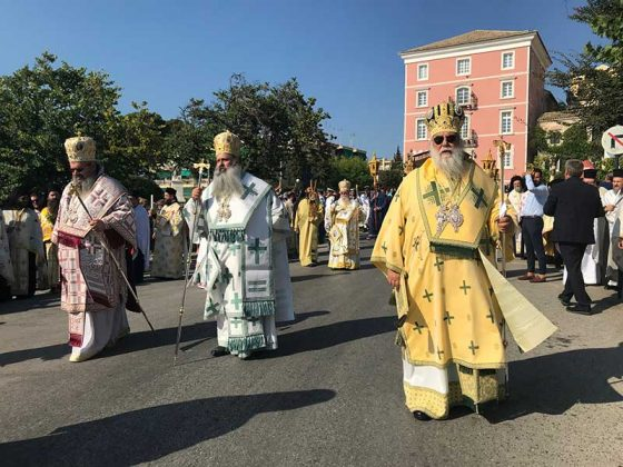 Η λιτάνευση του Ιερού Σκηνώματος του Αγίου Σπυρίδωνος της 11ης Αυγούστου28