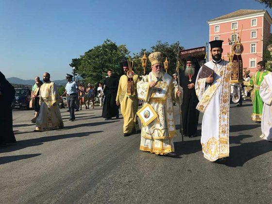 Η λιτάνευση του Ιερού Σκηνώματος του Αγίου Σπυρίδωνος της 11ης Αυγούστου29