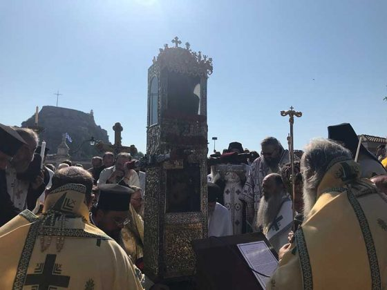 Η λιτάνευση του Ιερού Σκηνώματος του Αγίου Σπυρίδωνος της 11ης Αυγούστου32