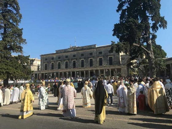 Η λιτάνευση του Ιερού Σκηνώματος του Αγίου Σπυρίδωνος της 11ης Αυγούστου34