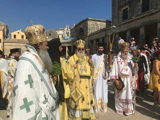 Η λιτάνευση του Ιερού Σκηνώματος του Αγίου Σπυρίδωνος της 11ης Αυγούστου36