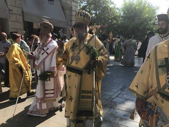 Η λιτάνευση του Ιερού Σκηνώματος του Αγίου Σπυρίδωνος της 11ης Αυγούστου41