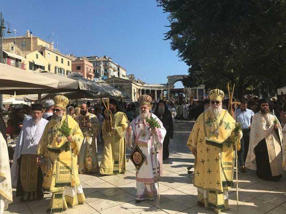 Η λιτάνευση του Ιερού Σκηνώματος του Αγίου Σπυρίδωνος της 11ης Αυγούστου42