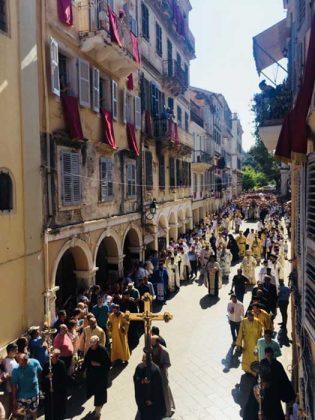 Η λιτάνευση του Ιερού Σκηνώματος του Αγίου Σπυρίδωνος της 11ης Αυγούστου44