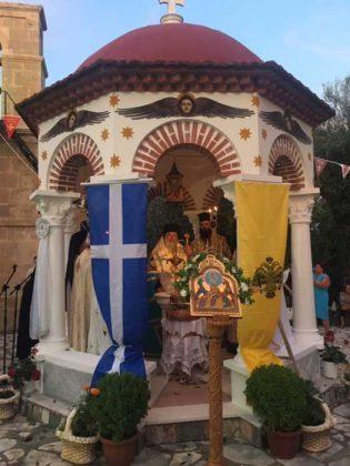 Πανηγυρικός εσπερινός στην Ιερά Μονή Παντοκράτορος Καμαρέλας11