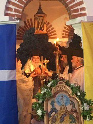 Πανηγυρικός εσπερινός στην Ιερά Μονή Παντοκράτορος Καμαρέλας12