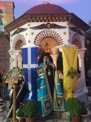 Πανηγυρικός εσπερινός στην Ιερά Μονή Παντοκράτορος Καμαρέλας14