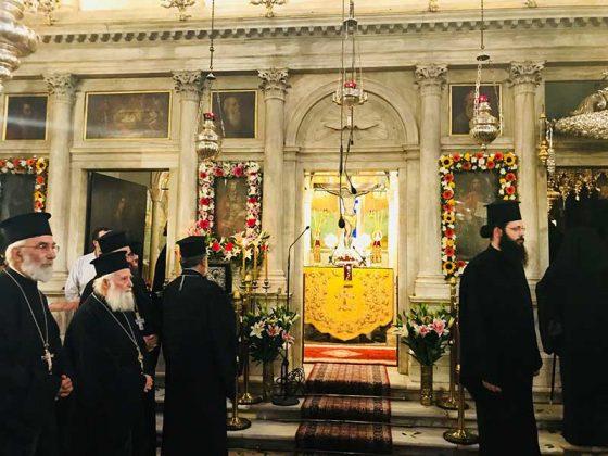 Πολυαρχιερατικός Εσπερινός στο Ιερό Προσκύνημα του Αγίου Σπυρίδωνος11
