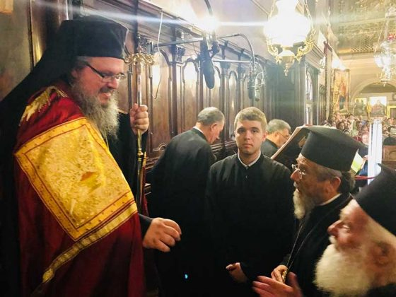 Πολυαρχιερατικός Εσπερινός στο Ιερό Προσκύνημα του Αγίου Σπυρίδωνος12