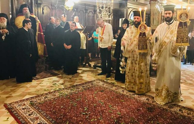 Πολυαρχιερατικός Εσπερινός στο Ιερό Προσκύνημα του Αγίου Σπυρίδωνος18