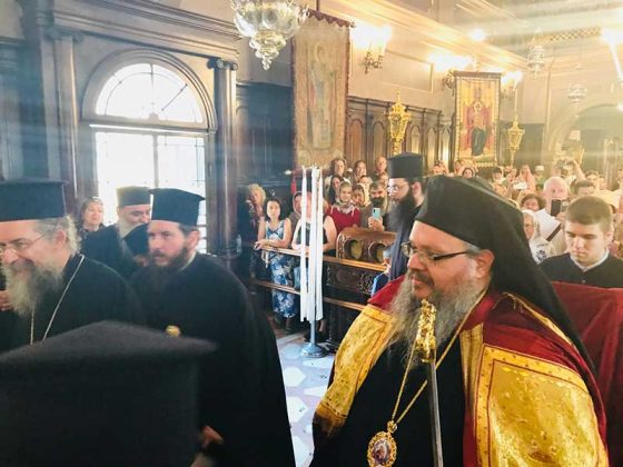 Πολυαρχιερατικός Εσπερινός στο Ιερό Προσκύνημα του Αγίου Σπυρίδωνος2