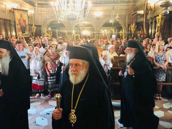 Πολυαρχιερατικός Εσπερινός στο Ιερό Προσκύνημα του Αγίου Σπυρίδωνος3