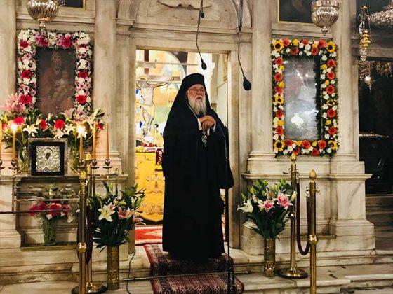 Πολυαρχιερατικός Εσπερινός στο Ιερό Προσκύνημα του Αγίου Σπυρίδωνος36