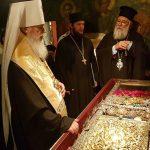 Προσκυνηματική επίσκεψη του Μητροπολίτη Οδησσού κ. Αγαθαγγέλου στον Άγιο Σπυρίδωνα στην Κέρκυρα