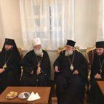 Προσκυνηματική επίσκεψη του Μητροπολίτη Οδησσού κ. Αγαθαγγέλου στον Άγιο Σπυρίδωνα στην Κέρκυρα2