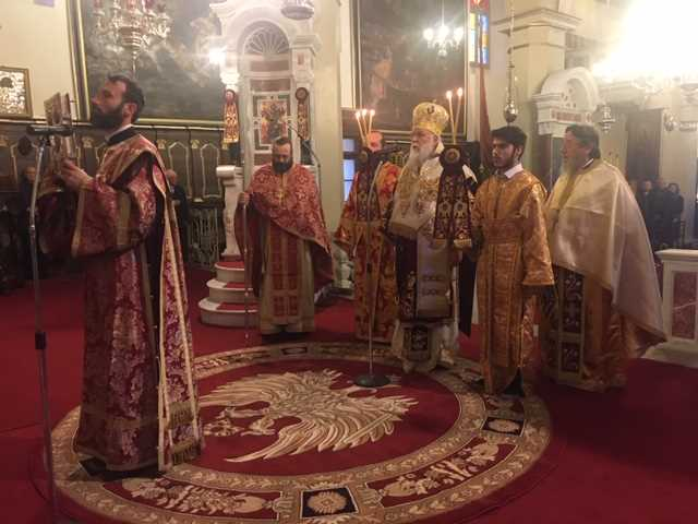 Photo of Bishop of Corfu, Mr. Nektarios: The birth of Christ brings peace and reconciliation