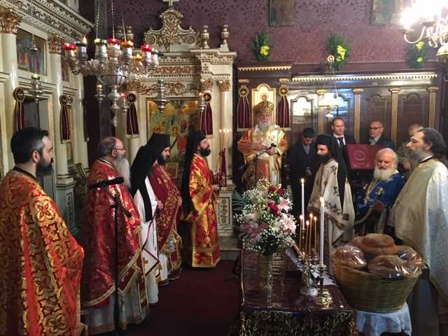 "Photo of Bishop of Corfu, Mr. Nektarios: ""We should accept God's love and  become students of the Saints"""