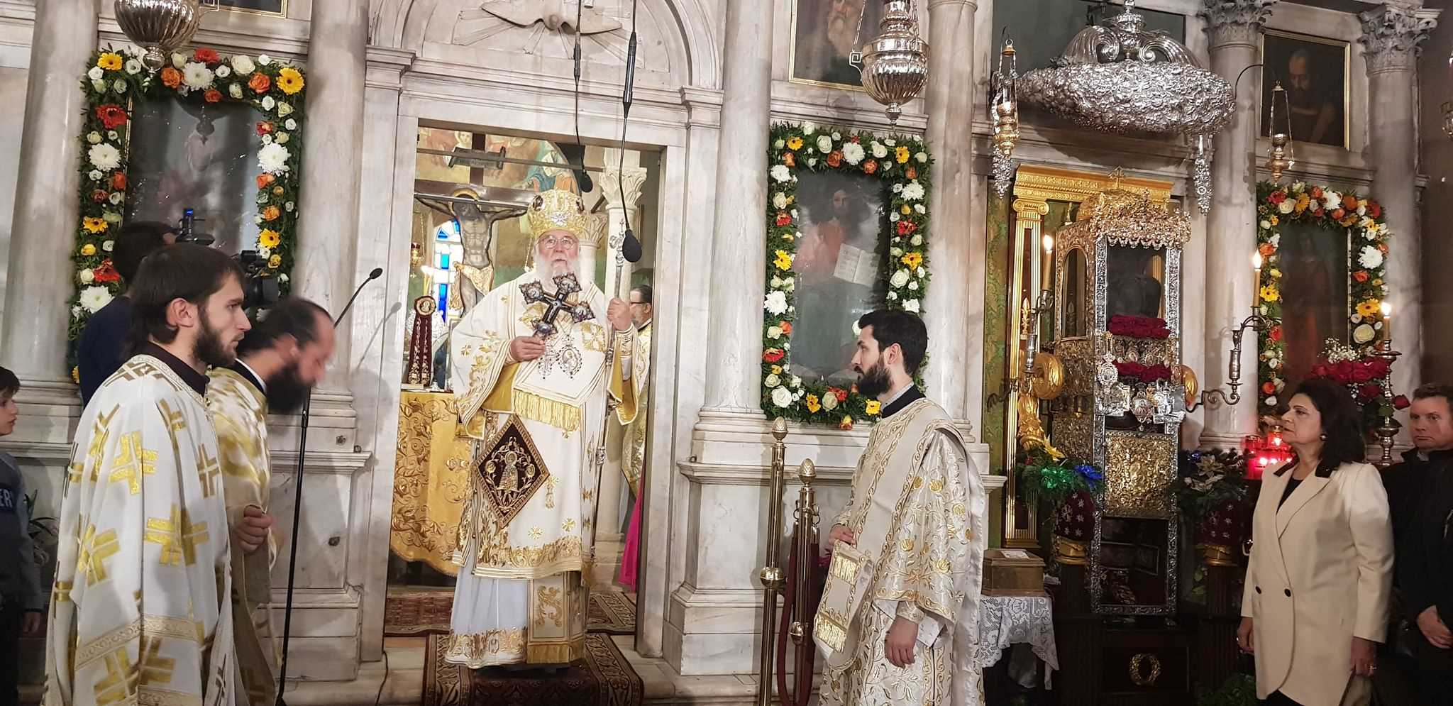 Photo of Bishop of Corfu, Mr. Nektarios: Saint Spyridon is the one who offers comfort