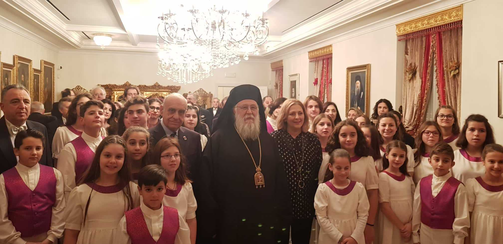 Photo of CHRISTMAS CAROLS TO THE BISHOP BY THE CHOIRS AND THE PHILARMONIC BANDS OF CORFU