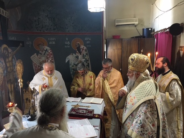 "Photo of BISHOP OF CORFU, MR. NEKTARIOS: ""WE SHOULD FIND AGAIN CHRIST'S MIND"""