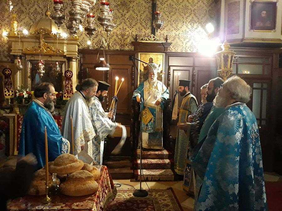 "Photo of BISHOP OF CORFU, MR. NEKTARIOS: ""In a time of spiritual lethargy, the voice of Prodromus awakens"""