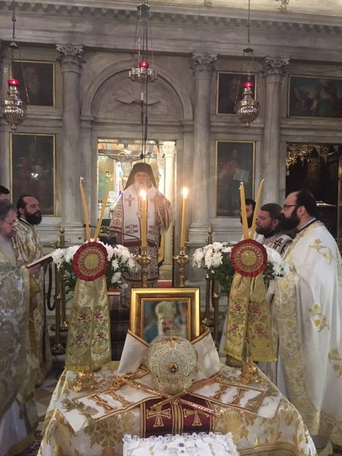 Photo of MEMORIAL SERVICE OF THE LATE ARCHBISHOP CHRISTODOULOS IN CORFU
