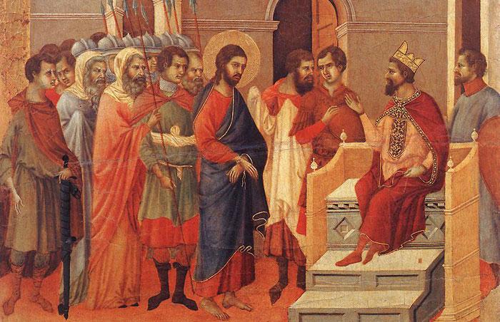 Ἄρχοντες λαῶν συνήχθησαν, κατὰ τοῦ Κυρίου