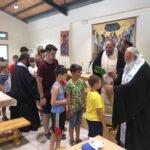 Ο Κερκύρας Νεκτάριος στις κατασκηνώσεις της Ιεράς Μητροπόλεως 10