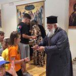 Ο Κερκύρας Νεκτάριος στις κατασκηνώσεις της Ιεράς Μητροπόλεως