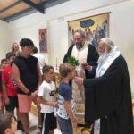 Ο Κερκύρας Νεκτάριος στις κατασκηνώσεις της Ιεράς Μητροπόλεως 2