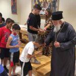 Ο Κερκύρας Νεκτάριος στις κατασκηνώσεις της Ιεράς Μητροπόλεως 3