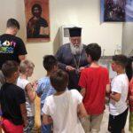 Ο Κερκύρας Νεκτάριος στις κατασκηνώσεις της Ιεράς Μητροπόλεως 4