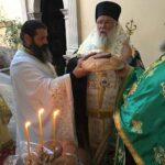 Ο Μητροπολίτης Κερκύρας Νεκτάριος στην εορτάζουσα Ιερά Μονή Αγίας Παρασκευής Μακράδων