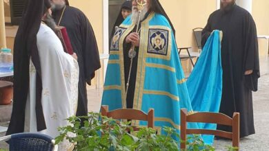 Ο Μητροπολίτης Κερκύρας Νεκτάριος στην εορτάζουσα Ιερά Μονή Αγίας Παρασκευής Μακράδων 7