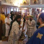 Ο Κερκύρας Νεκτάριος στην Ιερά Μονή Υψηλού Παντοκράτορος (1)