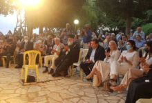 Ο Μητροπολίτης Κερκύρας Νεκτάριος σε εκδήλωση μνήμης για τους Κερκυραίους πεσόντες κατά την τουρκική εισβολή στη Κύπρο το 1974 (1)