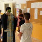 Μητροπολίτης Κερκύρας κ.Νεκτάριος Τέλεσε τον Αγιασμό στο 11οΔημοτικό Σχολείο, στο 2οΓυμνάσιο και το 2οΛύκειο της Κέρκυρας7