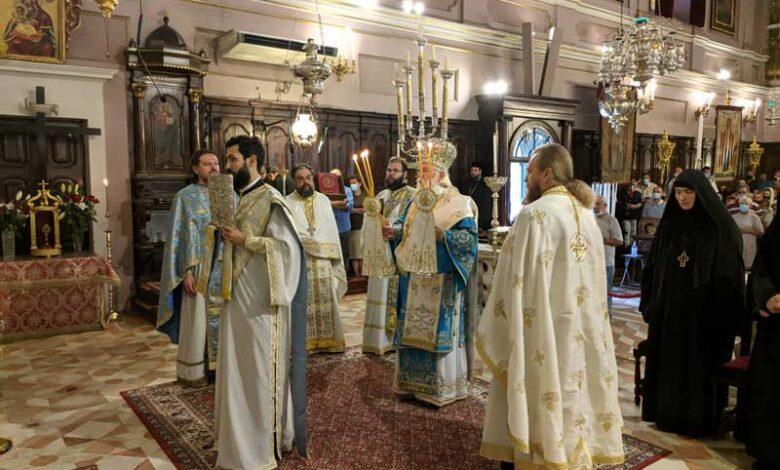 Ο Κερκύρας Νεκτάριος στο Ιερό προσκύνημα του Αγίου Σπυρίδωνος 1