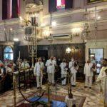Ο Κερκύρας Νεκτάριος στο Ιερό προσκύνημα του Αγίου Σπυρίδωνος 2