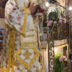 Ο Σεβασμιώτατος Μητροπολίτης Κερκύρας στον Ιερό Ναό Υ.Θ. Ελεούσης Ποταμού Κέρκυρας.1