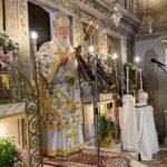 Ο Σεβασμιώτατος Μητροπολίτης Κερκύρας στον Ιερό Ναό Υ.Θ. Ελεούσης Ποταμού Κέρκυρας.4