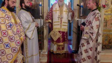 Ο Μητροπολίτης Κερκύρας στον Ιερό Ναό Αγίου Νικολάου Σιδαρίου (12)