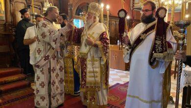 Ο Μητροπολίτης Κερκύρας στον Ιερό Ναό Αγίου Νικολάου Σιδαρίου (3)